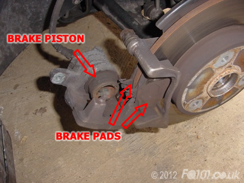Changing The Brake Pads